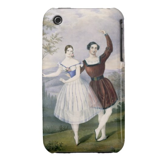 Fanny Cerrito (1817-1909) and Sigr. Guerra, in the Case-Mate iPhone 3 Case