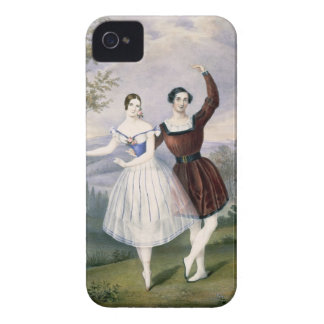 Fanny Cerrito (1817-1909) and Sigr. Guerra, in the iPhone 4 Case-Mate Case