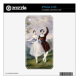 Fanny Cerrito (1817-1909) and Sigr. Guerra, in the iPhone 4S Decal