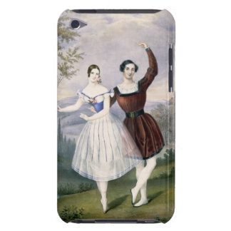 Fanny Cerrito (1817-1909) and Sigr. Guerra, in the iPod Case-Mate Case