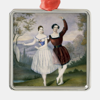 Fanny Cerrito (1817-1909) and Sigr. Guerra, in the Metal Ornament