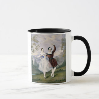 Fanny Cerrito (1817-1909) and Sigr. Guerra, in the Mug