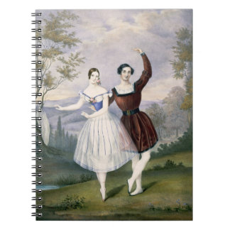 Fanny Cerrito (1817-1909) and Sigr. Guerra, in the Notebook