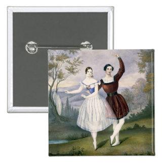 Fanny Cerrito (1817-1909) y Sigr. Guerra, en Pin