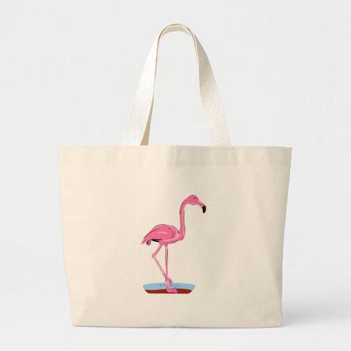 Fanny Flamingo Jumbo Tote Bag