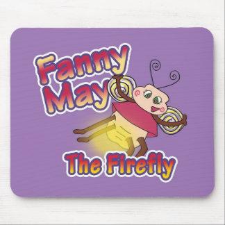 Fanny May The Firefly mousepad