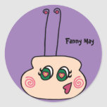 Fanny May The Firefly Stickers