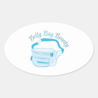 Fanny_Pack_Belly_Bag_Beauty Oval Sticker