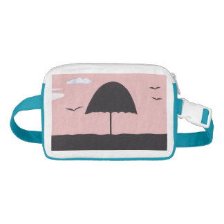 Fanny Pack with an Umbrella Scene