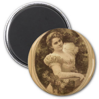 Fanny Rice  Vintage Theater Fridge Magnet