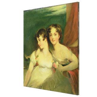 Fanny y Jane Hamond Lona Estirada Galerías