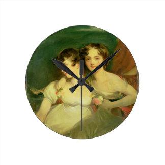 Fanny y Jane Hamond Reloj Redondo Mediano