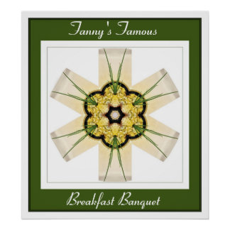 Fanny's Famous Breakfast Banquet Poster