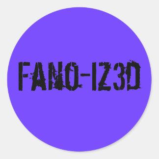 Fano B sticker
