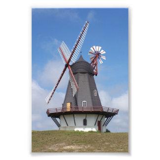 Fanoe Windmill Denmark Photo Print