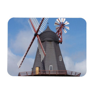 Fanoe Windmill Denmark Rectangular Photo Magnet