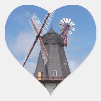 Fanoe Windmill Denmark Stickers