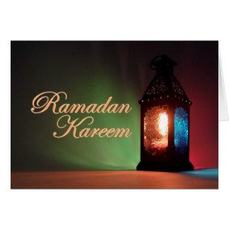 Fanous Ramadan Card