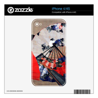 Fans by Hokusai Skin For The iPhone 4S