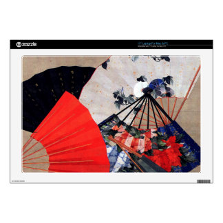 """Fans by Hokusai Skins For 17"""" Laptops"""
