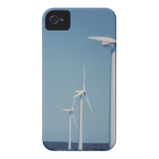 FANS de la energía alternativa: VIENTO, solar, Carcasa Para iPhone 4 De Case-Mate