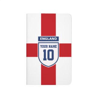 Fans de la lealtad de Inglaterra - número conocido Cuadernos Grapados