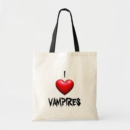 Fans del vampiro bolsa de mano