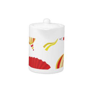 Fans & Lanterns Teapot