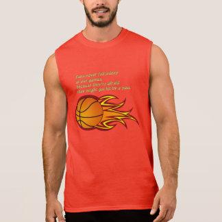 Fans never fall asleep sleeveless t-shirts