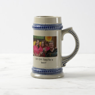 fans, OY OY! Time for a beer!, Get ya own offic... 18 Oz Beer Stein