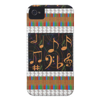 Fans Students of Music Symbol Art Display gifts 99 iPhone 4 Case-Mate Cases