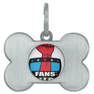 FANS' UNION PRODUCTS (Logo 1) Pet ID Tags