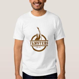 Fansters 2 hombres de la camiseta del color polera