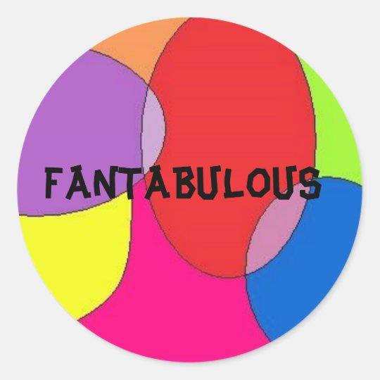 Fantabulous Sticker