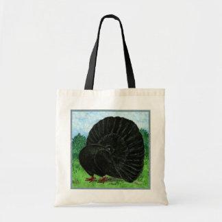 Fantail:  Black Bags
