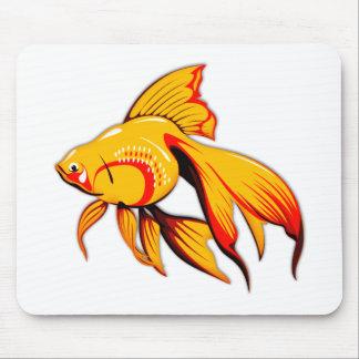 Fantail Goldfish Mouse Pad