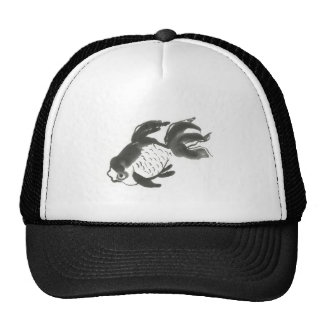 Fantail Goldfish, sumi-e Trucker Hat
