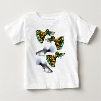 Fantail Guppies Baby T-Shirt