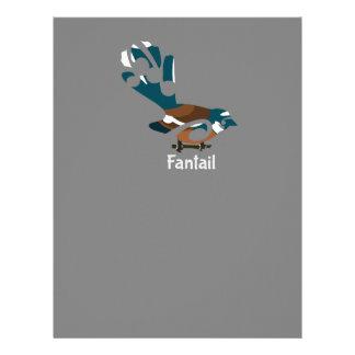 Fantail Personalized Letterhead