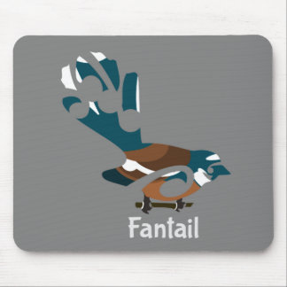 Fantail | New Zealand Mouse Pad