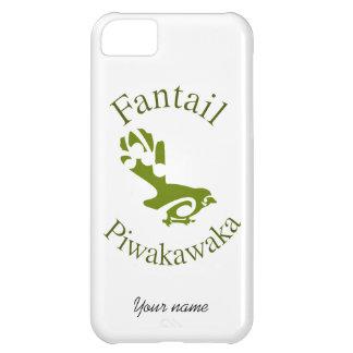 Fantail New Zealand Native Bird PIWAKAWAKA iPhone 5C Cases