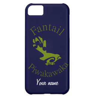 Fantail New Zealand Native Bird PIWAKAWAKA iPhone 5C Cover