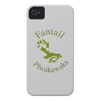 Fantail New Zealand Native Bird PIWAKAWAKA Case-Mate iPhone 4 Cases