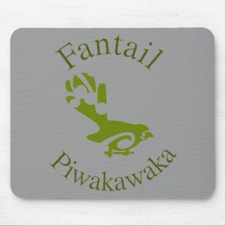 Fantail New Zealand Native Bird PIWAKAWAKA Mouse Pads