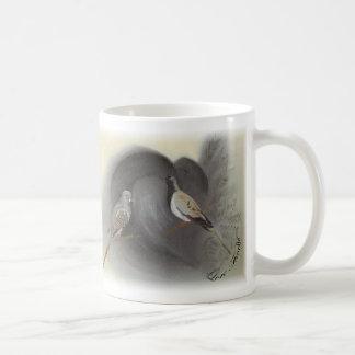 Fantail Pigeon Diamon Dove Cape Dove Mug
