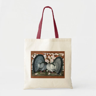 Fantail Pigeons Matched Pair Tote Bag