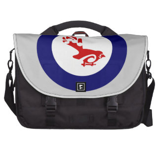 Fantail PIWAKAWAKA Roundel Bags For Laptop