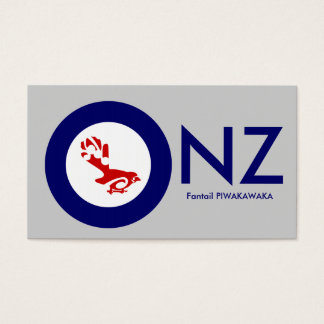 Fantail PIWAKAWAKA Roundel Business Card
