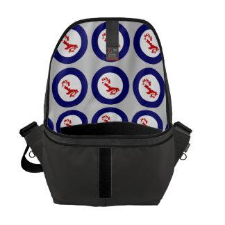 Fantail PIWAKAWAKA Roundel Courier Bags