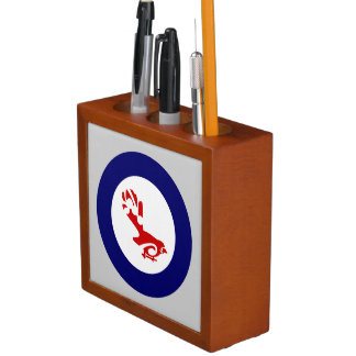 Fantail PIWAKAWAKA Roundel Pencil/Pen Holder